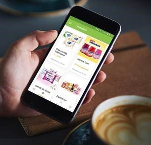 Cashbacks op de gratis myShopi app