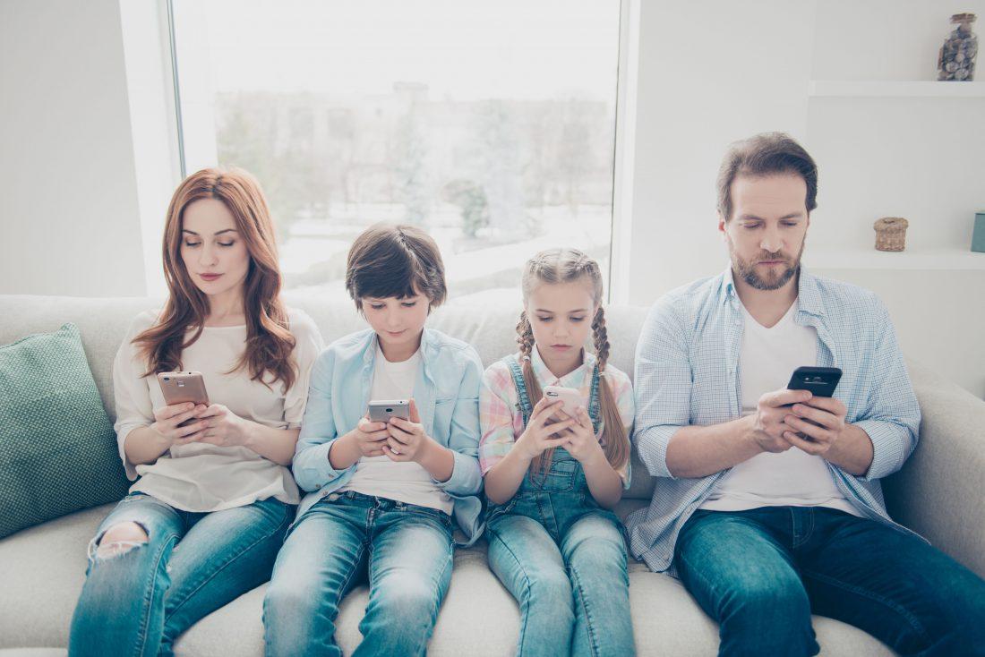 Établissez les règles pour vos enfants et pour vous-même