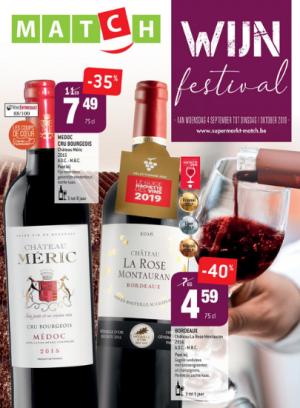 Wijnfestival - de catalogus van Match